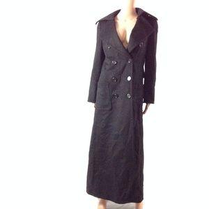 Zara Woman Women's Long Peacoat Jacket Size US 6